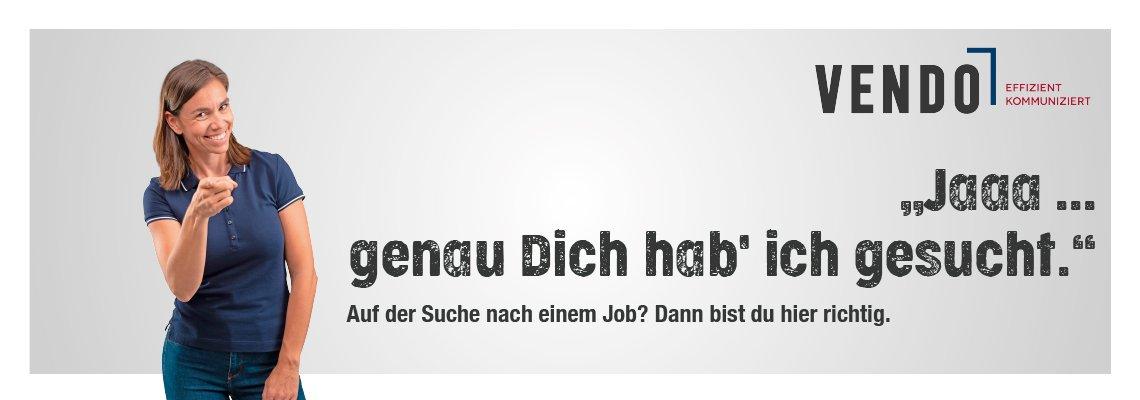 Karriere bei VENDO - wir suchen einen Full Stack Software Entwickler!