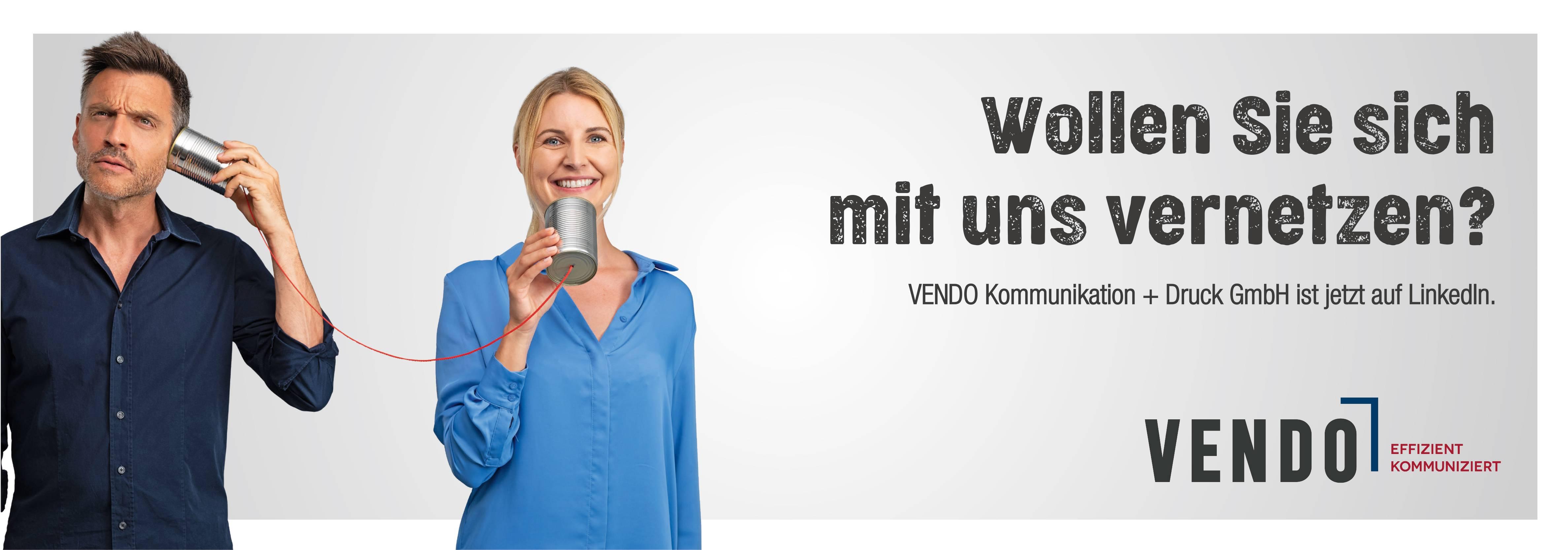 VENDO goes LinkedIn - Bleiben Sie am Puls der Zeit ...