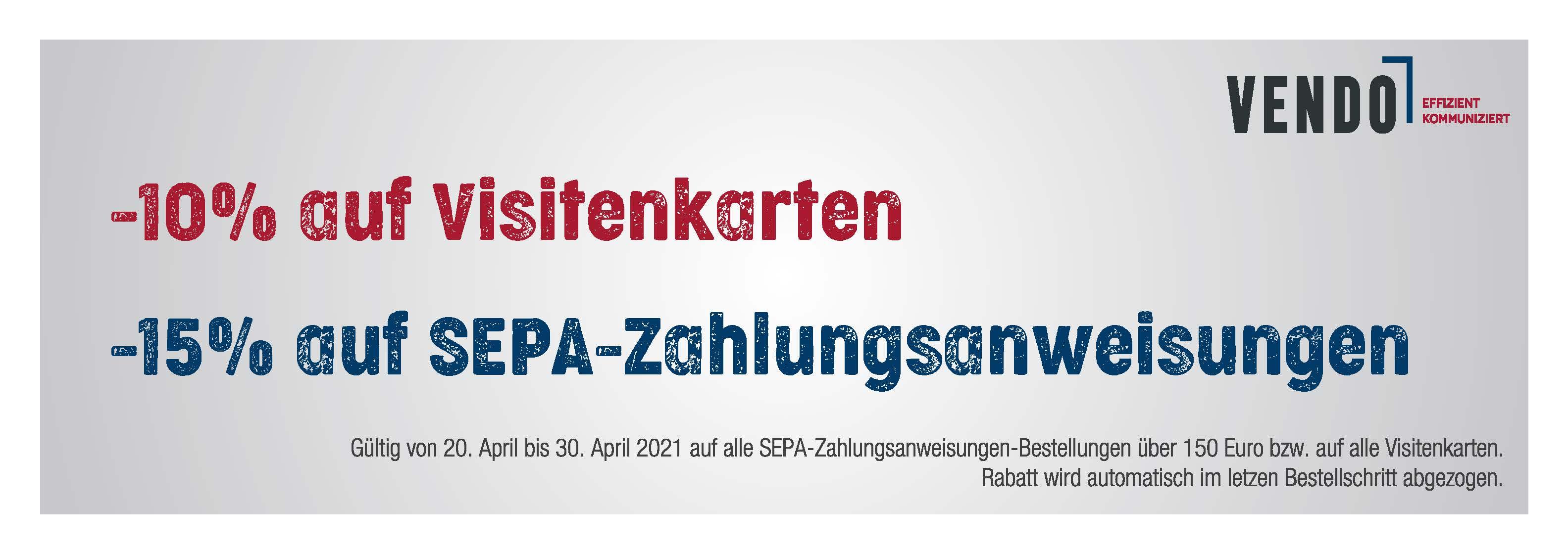 Achtung! April-Rabatt-Aktion!