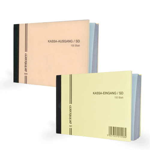 Kassabücher