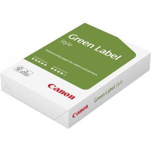 CANON Kopierpapier Green Label Style A3 80 g/m² 500 Blatt naturweiß