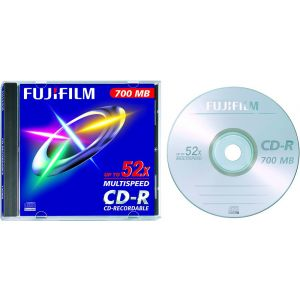 FUJI CD Rohling Jewel Case