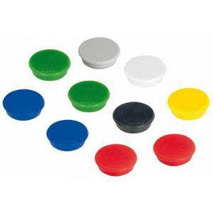 FRANKEN Magnet 32 mm 10 Stück sortiert