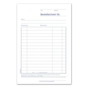 URSUS Bestellscheinbuch BE542SD DIN A5 2 x 40 Blatt