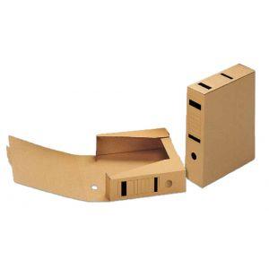 OFFICIO Archivbox 569 A4 braun