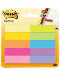 POST-IT® Page Marker 670-10AB 10 x 50 Blatt 12,7 x 44,4 mm farbig sortiert