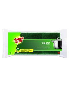 SCOTCH Brite Classic Topfreiniger 3 Stück gelb/grün