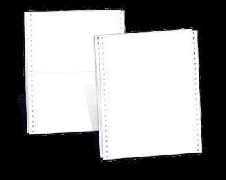 Durchschreibegarnitur blanko 2-fach 240 x 152,4