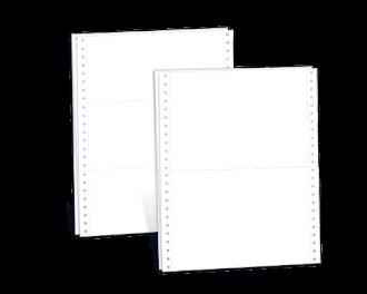 Durchschreibegarnitur blanko 3-fach 240 x 152,4