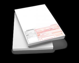 SEPA SPENDEN-Zahlungsanweisung mit Allonge A4