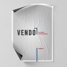 Plakat A1, 4c/4c Offsetdruck, 90g Recycling Papier, Produktionszeit: Standard