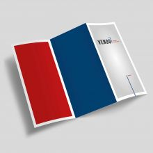 Flyer, 105x297mm, 4c/0 Digitaldruck, 100g Volumenpapier, Produktionszeit: Standard