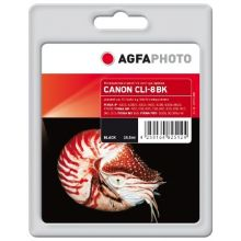 AGFAPHOTO Tintenpatrone Canon CLI8 15,5 ml schwarz