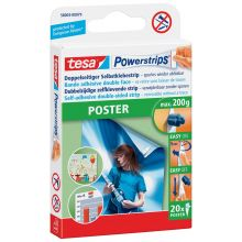TESA Posterstrips Powerstrips 58003 20 Stück