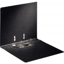 BENE Ordner 91500 A4 4,5 cm Hartpappe schwarzgrau marmoriert