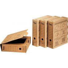 BENE Archivbox 96900 A4 Wellpappe braun