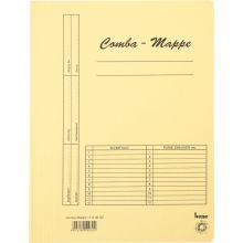 BENE Comba-Mappe 111000 A4 Karton gelb