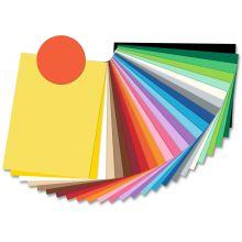 FOLIA Tonzeichenpapier 6740 50 x 70 cm 130 g/m² orange