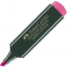 FABER-CASTELL Textmarker 48 Refill rosa