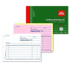 OMEGA Lieferscheinbuch 943 1/2 OK A6 3 x 50 Blatt weiß/rosa/weiß