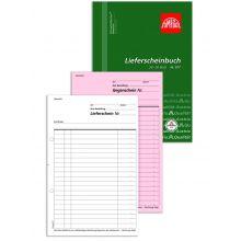 OMEGA Lieferscheinbuch 977 A5 hoch 2 x 50 Blatt weiß/rosa