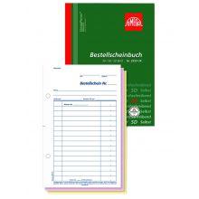 OMEGA Bestellscheinbuch 2959 OK A5 hoch 3 x 50 Blatt weiß/weiß/weiß