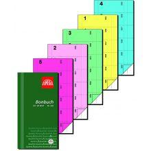 OMEGA Bonbuch 326/5 2x60 Blatt 360 Abrisse 10,5x19,8 cm eosin