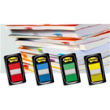 POST-IT® Index I680-5 50 Haftstreifen im Spender 25,4 x 43,2 mm gelb