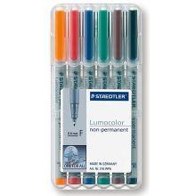 STAEDTLER OHP-Stift Lumocolor non-permanent 6 Stück 0,6 mm