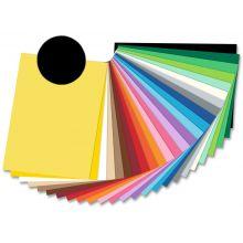 FOLIA Fotokarton 6190 50 x 70 cm 300 g/m² schwarz
