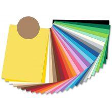 FOLIA Tonzeichenpapier 6775 50 x 70 cm 300 g/m² rehbraun