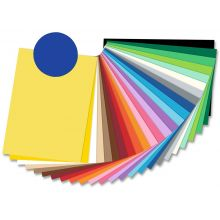 FOLIA Tonzeichenpapier 6736 50 x 70 cm 130 g/m² ultramarinblau