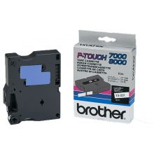 BROTHER Schriftband P-Touch TX-221 9 mm schwarz auf weiß