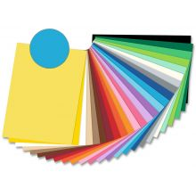 FOLIA Fotokarton 6133 50 x 70 cm 300 g/m² pazifikblau