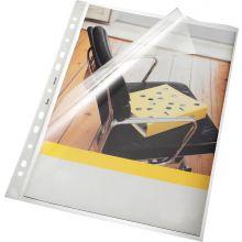 BENE Klarsichthülle 206200 50 Stück A4 PP 140 µm glatt transparent