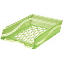 BENE Briefkorb 60100 A4/C4 grün transparent