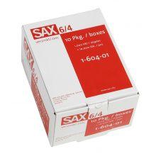 SAX Heftklammern 6/4 1000 Stück verzinkt