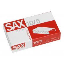 SAX Heftklammern 10/5 1000 Stück verzinkt