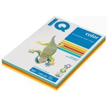 IQ Color Kopierpapier A4 80 g/m² 5 x 50 Blatt Mix intensiv-bunt