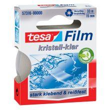 TESA Klebefilm 57316 15 mm x 33 m kristall-klar