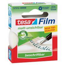 TESA Klebefilm 57312 19 mm x 33 m matt-transparent