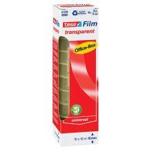 TESA Klebefilm Box 57370 10 Rollen 15 mm x 10 m transparent