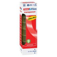 TESA Klebefilm Box 57404  8 Rollen 19 mm x 10 m transparent