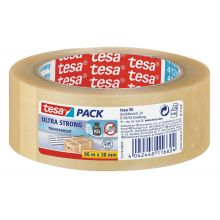 TESA Verpackungsband Ultra Strong 57175 38 mm x 66 m transparent