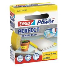 TESA Gewebeband extra Power Perfect 19 mm x 2,75 m gelb