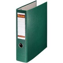 BENE Postscheckordner 292900 7,5 cm PP mit 2 Hebelmechaniken grün