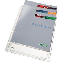 LEITZ Prospekthülle 4756 Maxi 5 Stück A4 PVC transparent