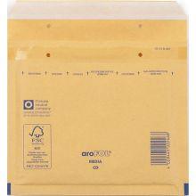 ÖKI Luftpolstertasche ÖKI-FOL/CD_B 100 Stück für CDs mit Haftstreifen braun