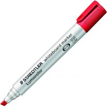 STAEDTLER Whiteboardmarker Lumocolor 351B mit Keilspitze 2-5 mm rot