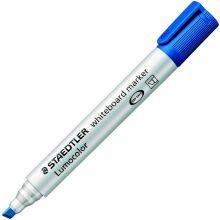 STAEDTLER Whiteboardmarker Lumocolor 351B mit Keilspitze 2-5 mm blau